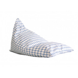 Nobodinoz Essaouira Beanbag (Blue Diamonds)
