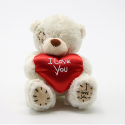 Me to You Teddy Bear (I Love You teddy), White