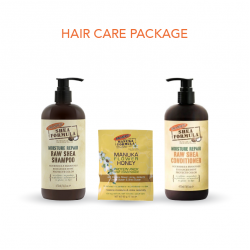 Palmer's Shea Hair Care Package Includes Shampoo, Conditioner and Honey Protein Pack