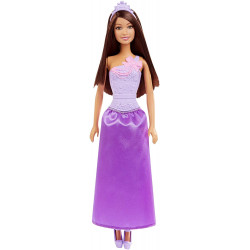 Barbie Basic Princess / Purple- Pink