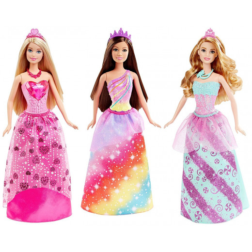 Barbie Princess Gem Fashion Doll