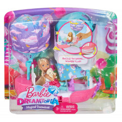 Barbie Dreamtopia Magical Dreamboat Doll Playset