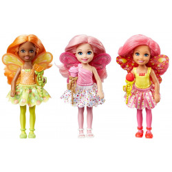 Barbie Chelsea Doll Small Fairy, Assortment