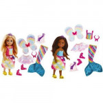 Barbie Dreamtopia Chelsea and Outfits - 2 Types