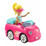 Barbie - On the Go Doll+Vehicle
