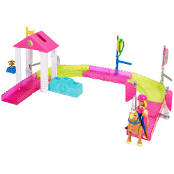 Barbie - Go Pony Race Track Playset