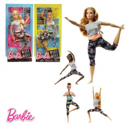 Barbie - Doll Movement Limites30 cm, Multicolour