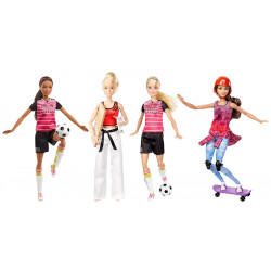 Barbie - Active Sports Doll Assortment