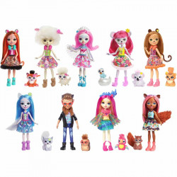 Barbie - Enchantimals Doll + Pet
