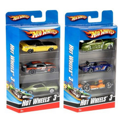 Hot Wheels - 3 Car Pack