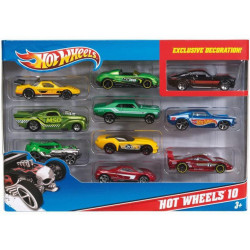 Hot Wheels - 10 Car Pack (styles May Vary)