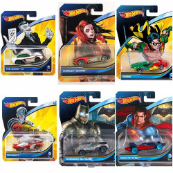 Hot Wheels DC Comics Car, Assorted