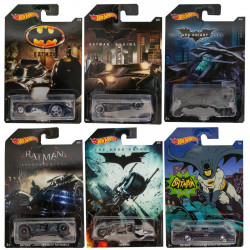 Hot Wheels - Batman Complete 1 pack - Bat- mobiles, Bat-Pod - Assortment