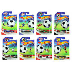 Hot Wheels - Soccer 2016 Collection Full 8-Car Set