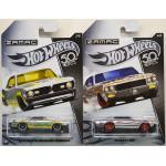 Hot Wheels - 50th Anniversary Zamac Diecast Vehicles - Full Set of 8