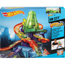 Hot Wheels - Colour Shifter Laboratory Playset, Model Cars