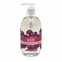 Seventh Generation Hand Wash, Black Currant & Rosewater, 12 Ounce
