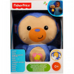 Fisher-Price Infant Plush - Soothe and Glow Monkey
