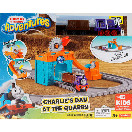 MATTEL Thomas & Friends Adventures Charlie's Day At The Quarry