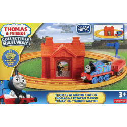Thomas & Friends Railway - Thomas At Maron Station Die-Cast Train Starter Set