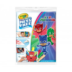 Crayola Color Wonder Mess Free Coloring Pad & Markers, PJ Masks