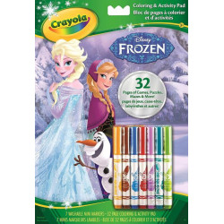Crayola Frozen Color & Activity Book