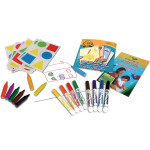 Crayola My first Coloring and Stickers Kit