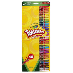 Crayola Twistable Pencils 40 pack
