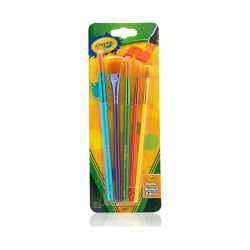 Crayola Arts & Crafts Brushes, 5 Count