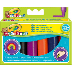 Crayola - 8 Jumbo Crayons Assorted Colours