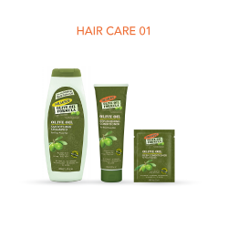 Palmer's Olive Hair Care Package Includes Shampoo, Conditioner and Protein Pack