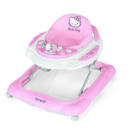 Brevi Baby Walker Skylab - Linea Hello Kitty, Pink