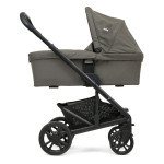 Joie Chrome Carry Cot, Foggy Gray