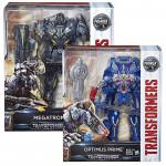 Transformers: The Last Knight Premier Edition Leader Class Optimus/ Megatrun, Assortment