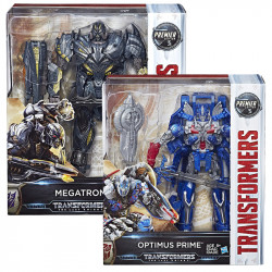 Transformers: The Last Knight Premier Edition Leader Class Optimus/ Megatrun, Assortment