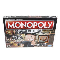 Monopoly Hasbro Gaming Cheats Board Game