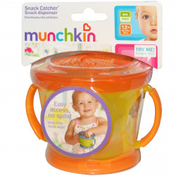 Munchkin Snack Catcher, Orange and Yellow