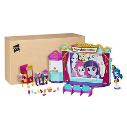 Hasbro My Little Pony Equestria Girls Minis Movie Theatre Playset