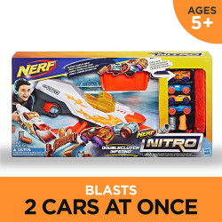 Nerf Doubleclutch Inferno Nitro Toy