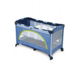 Joie Allura™ 120 Travel Cot, Linen Denim
