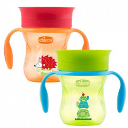 Chicco 360 Perfect Cup, Neutral, 200ml, Red or Green