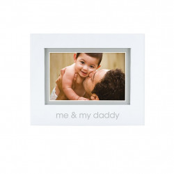 PearHead Me & My Daddy Sentiment Frame
