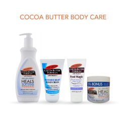 Palmer's Cocoa Butter Body Care Package Includes Body Lotion, Foot Magic Moisturizer and Hand Cream, Cocoa Butter Formula