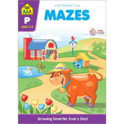 School Zone - Mazes Workbook