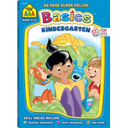School Zone - Kindergarten Basics: Super Deluxe Edition Workbook