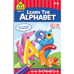 School Zone - Learn The Alphabet (Little Busy Book) Ages 4-6
