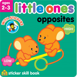 School Zone - Little Ones opposites age 2-3
