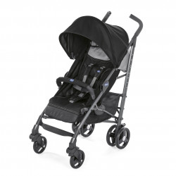 Chicco Pushchair Lite Way Stroller, Jet Black