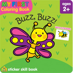 School Zone - My First Coloring Book Buzz Buzz