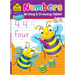 School Zone -Numbers Writing & Drawing Tablet